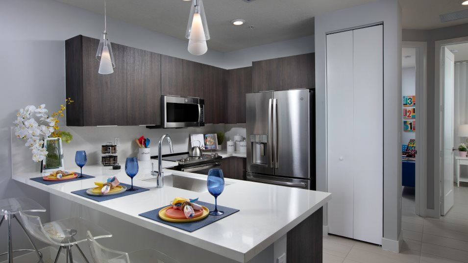Kitchen featured in the Model D By Lennar in Miami-Dade County, FL