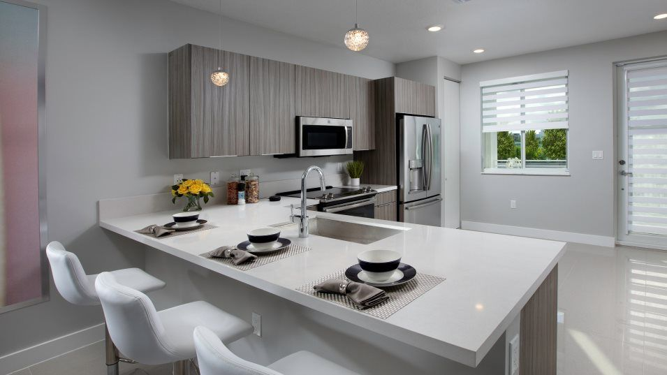 Kitchen featured in the Model E By Lennar in Miami-Dade County, FL