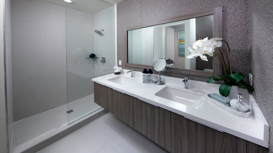 Bathroom featured in the Model E By Lennar in Miami-Dade County, FL