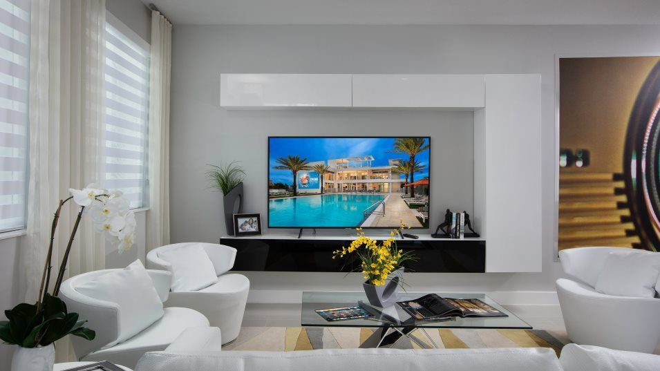 Living Area featured in the Model E By Lennar in Miami-Dade County, FL