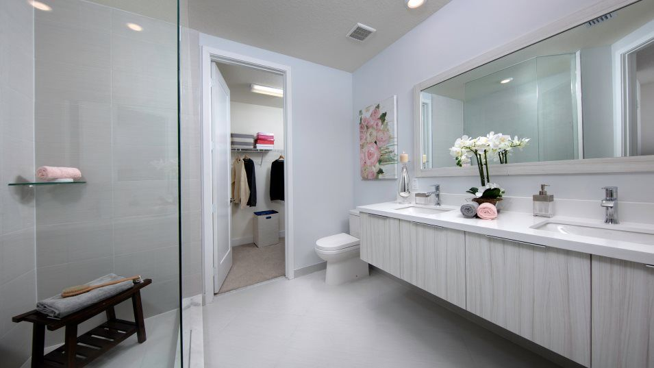 Bathroom featured in the Model F By Lennar in Miami-Dade County, FL