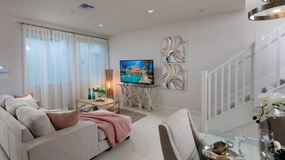 Living Area featured in the Model F By Lennar in Miami-Dade County, FL