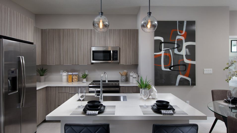 Kitchen featured in the MODEL MD By Lennar in Miami-Dade County, FL