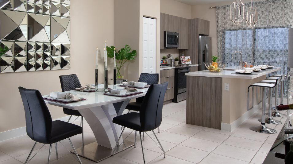 Kitchen featured in the Cascade By Lennar in Miami-Dade County, FL
