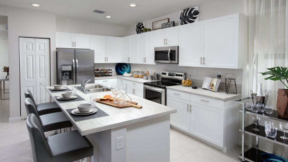 Kitchen featured in the Amelia By Lennar in Miami-Dade County, FL