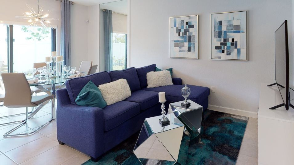Living Area featured in the Monte Carlo By Lennar in Miami-Dade County, FL