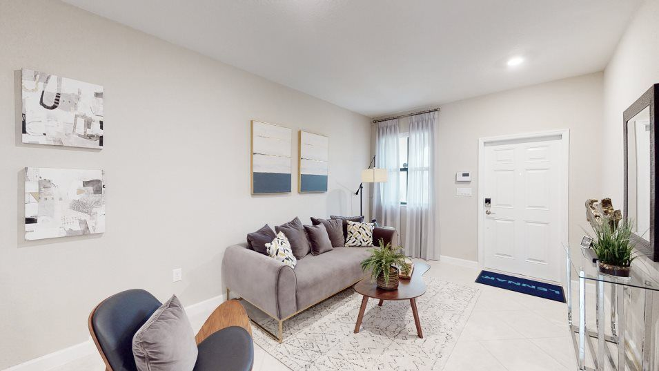 Living Area featured in the Dijon By Lennar in Miami-Dade County, FL