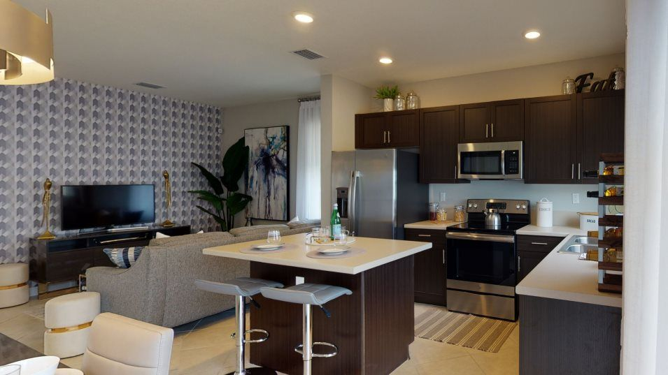 Kitchen featured in the Bandol By Lennar in Miami-Dade County, FL
