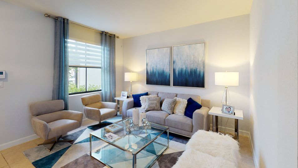 Living Area featured in the Galleon By Lennar in Miami-Dade County, FL