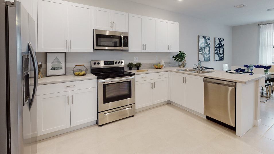 Kitchen featured in the Marseille By Lennar in Miami-Dade County, FL
