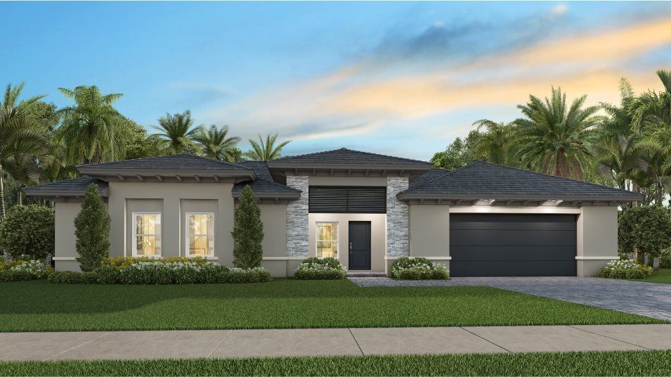 Exterior featured in the Caraway By Lennar in Miami-Dade County, FL