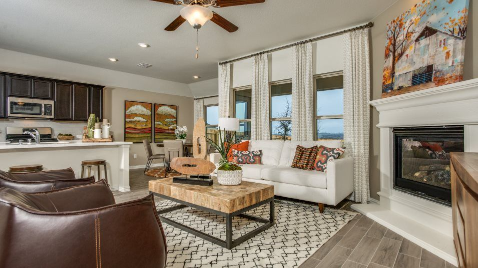 Living Area featured in the Sonata  -Standard 3 Car Garage By Lennar in Fort Worth, TX