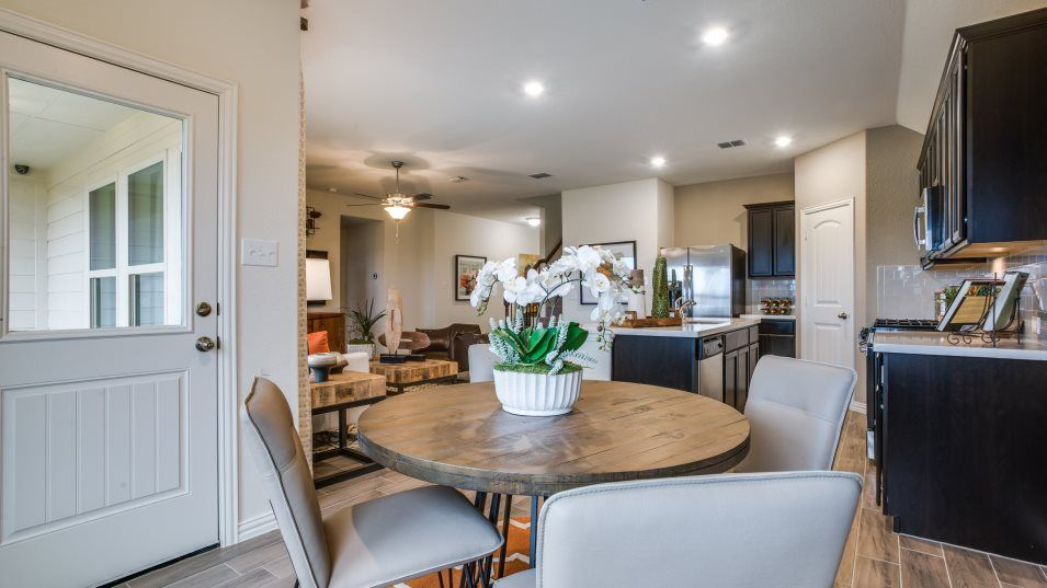Kitchen featured in the Sonata  -Standard 3 Car Garage By Lennar in Fort Worth, TX