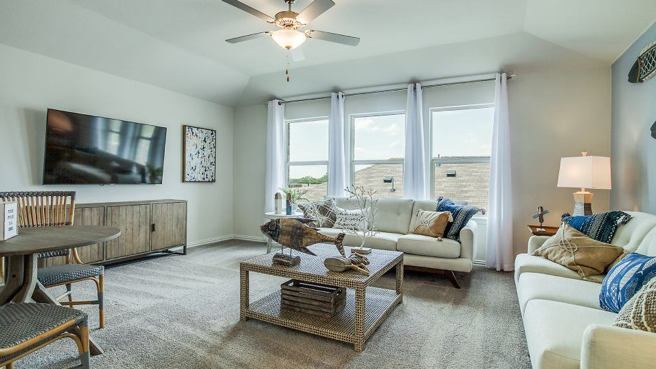 Living Area featured in the Harmony -Standard 3 Car Garage By Lennar in Fort Worth, TX