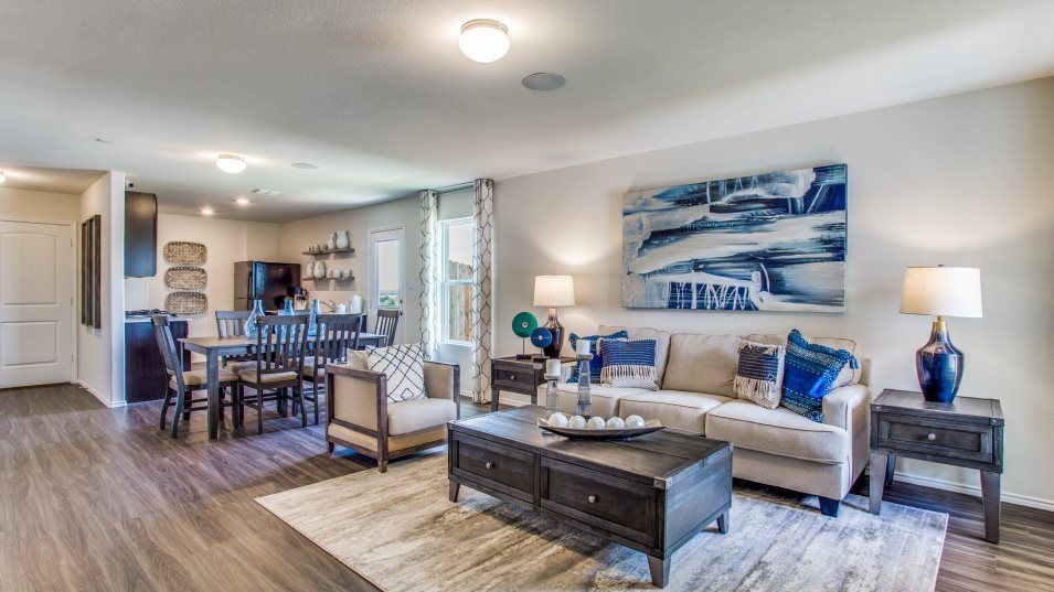 Living Area featured in the Windhaven By Lennar in Dallas, TX