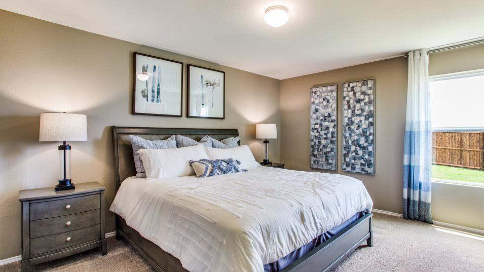 Bedroom featured in the Windhaven By Lennar in Dallas, TX