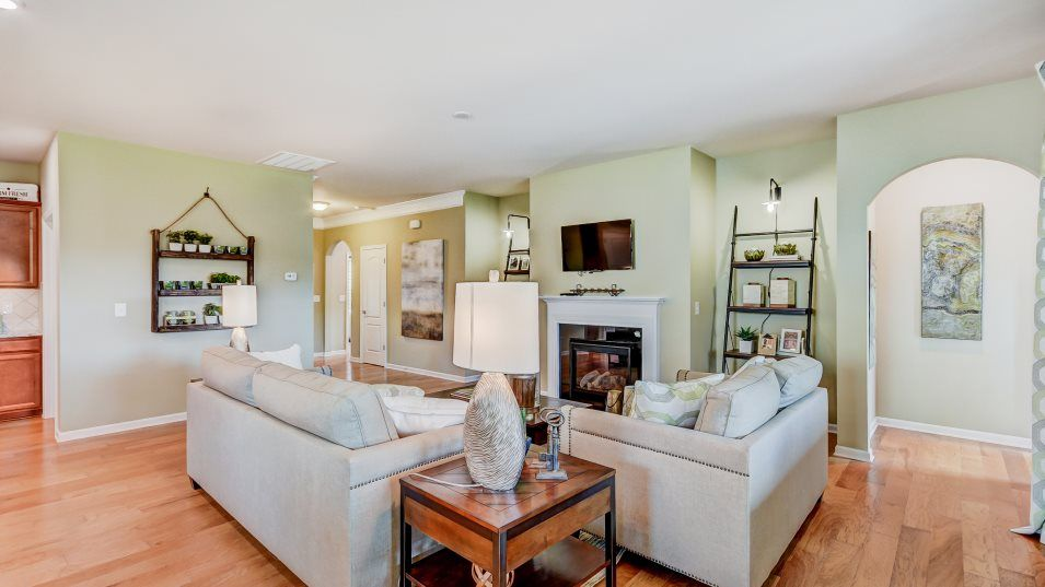 Living Area featured in the Bliss By Lennar in Charlotte, NC