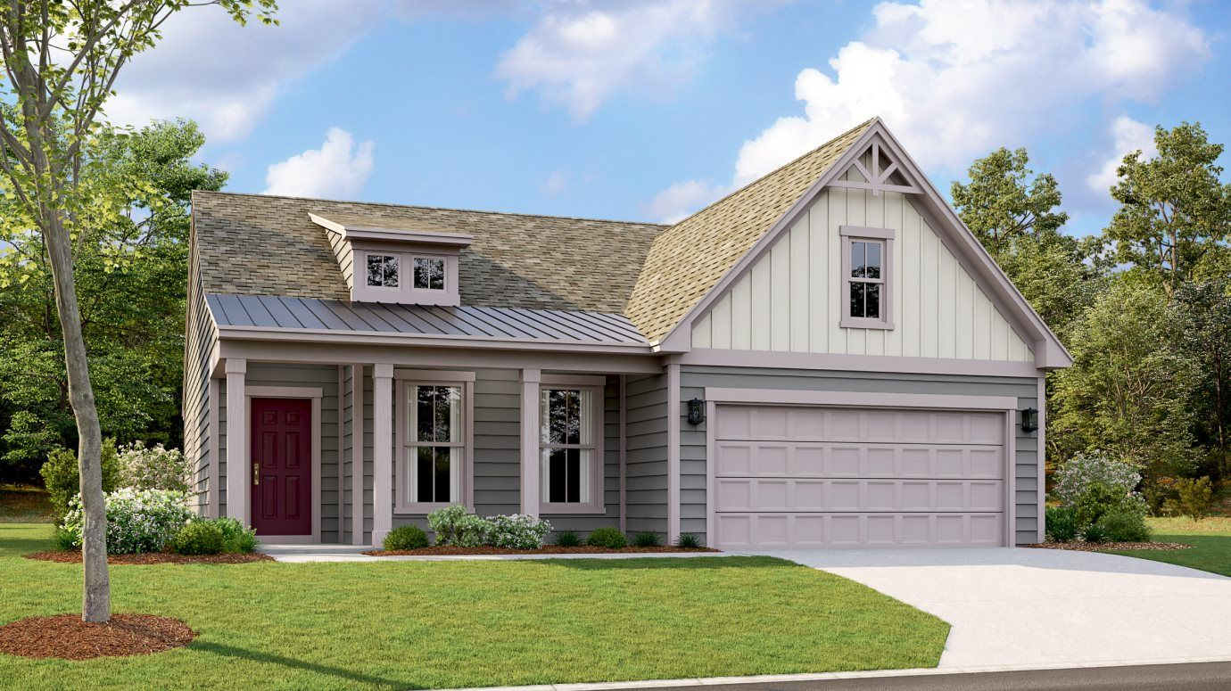 Exterior featured in the Castleford By Lennar in Charlotte, NC
