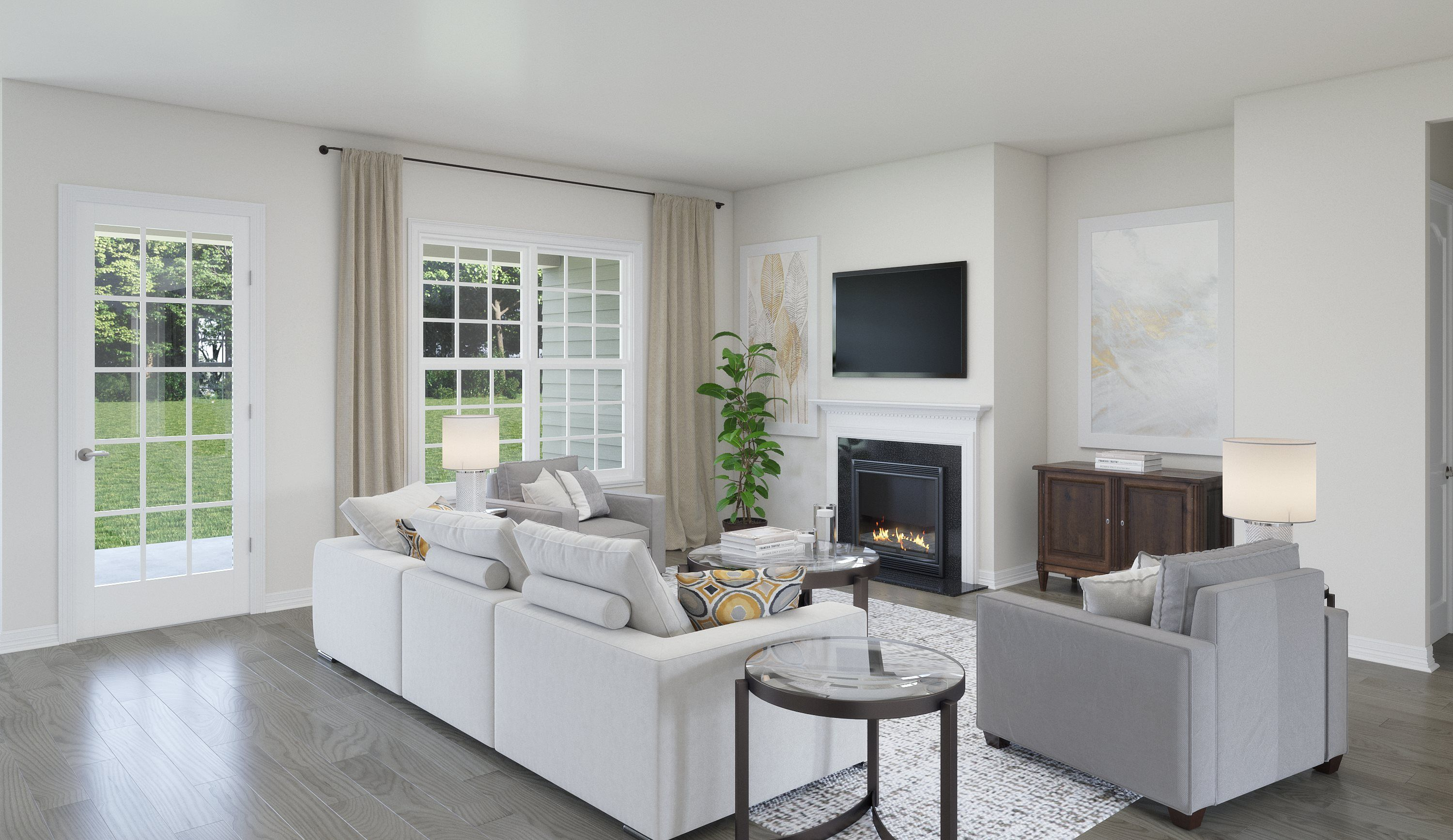Living Area featured in the Crabtree By Lennar in Charlotte, NC