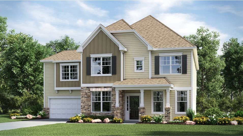 Exterior featured in the Ivy By Lennar in Charlotte, NC