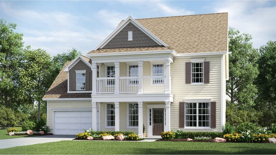 Exterior featured in the Hayden By Lennar in Charlotte, NC