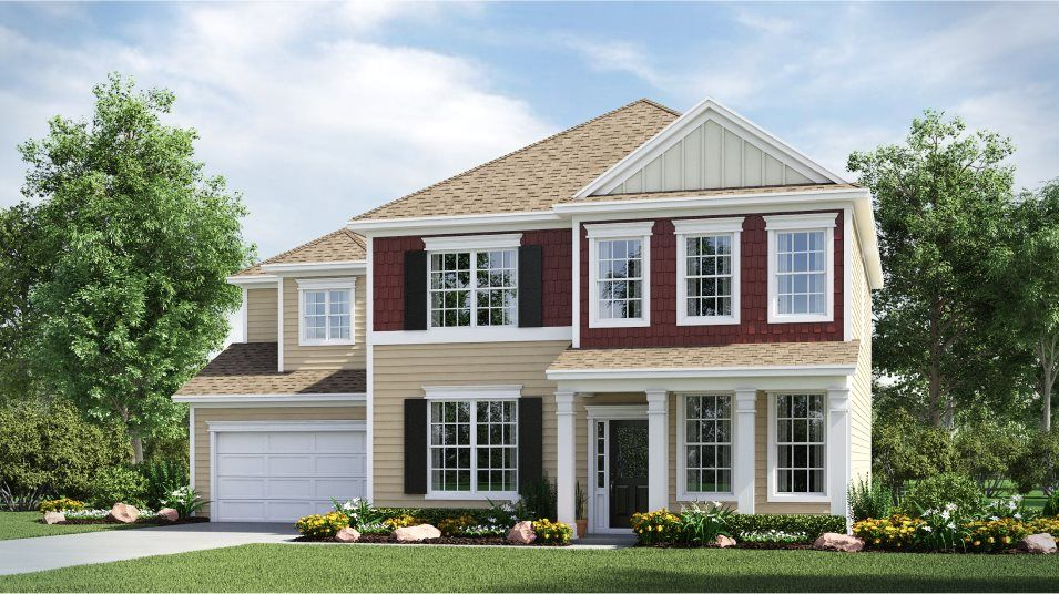 Exterior featured in the Fenton By Lennar in Charlotte, NC