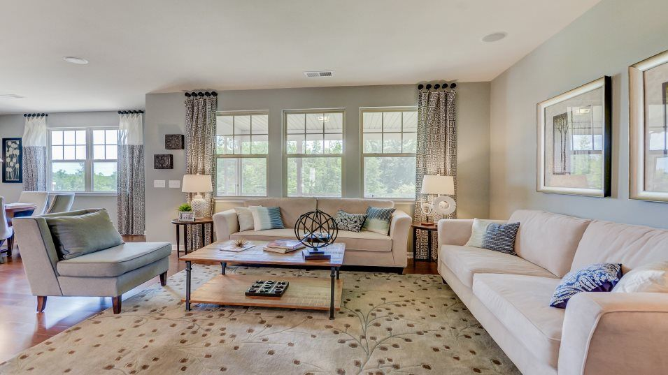 Living Area featured in the Fenton By Lennar in Charlotte, NC