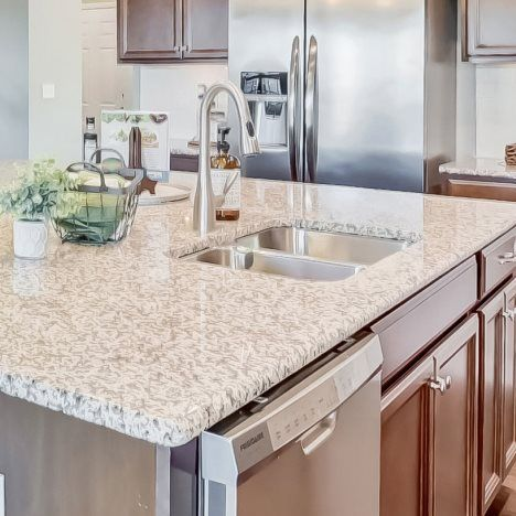 Kitchen featured in the Cambridge By Lennar in Charlotte, NC