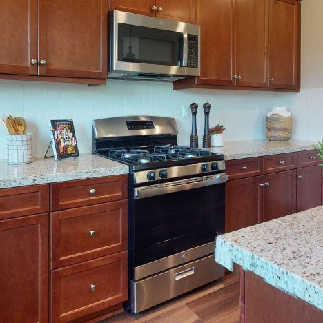 Kitchen featured in the Residence Two By Lennar in Riverside-San Bernardino, CA