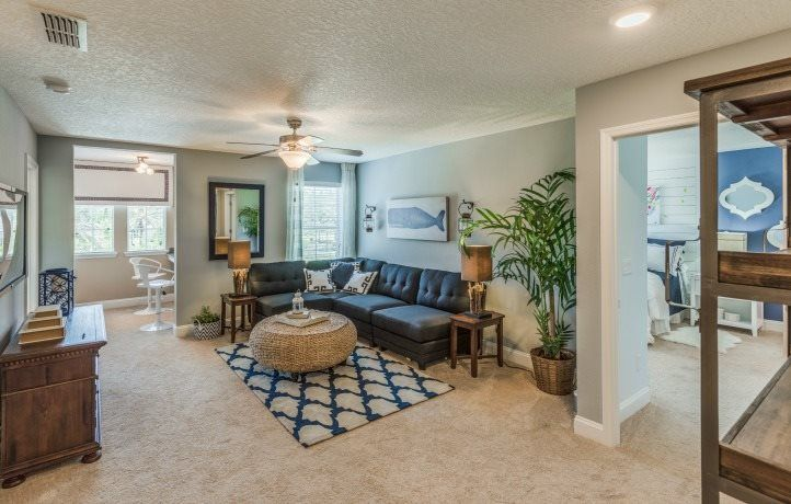 Living Area featured in the Kingsley III By Lennar in Jacksonville-St. Augustine, FL