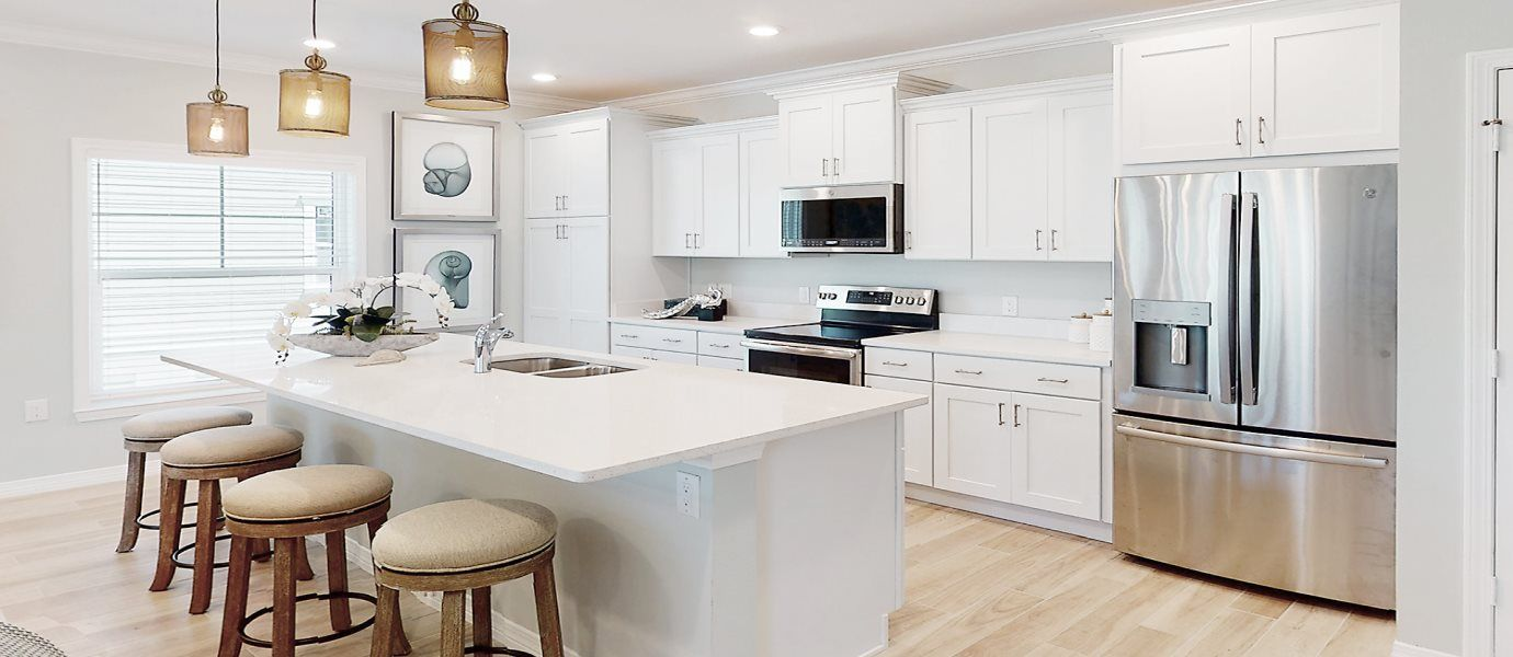 Kitchen featured in the Resort Villa By Lennar in Pensacola, FL