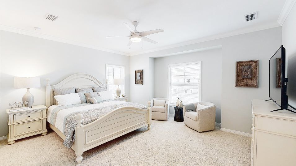 Bedroom featured in the Resort Villa By Lennar in Pensacola, FL