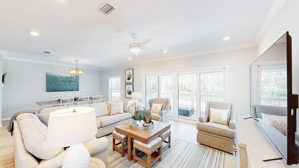Living Area featured in the Resort Villa By Lennar in Pensacola, FL