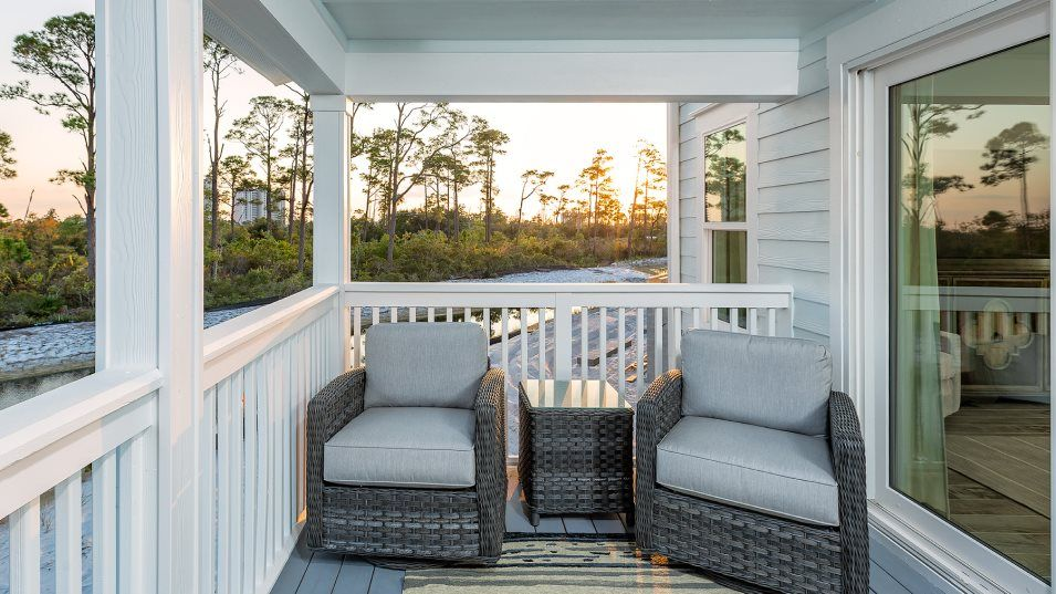 Exterior featured in the 3BR Townhome By Lennar in Pensacola, FL
