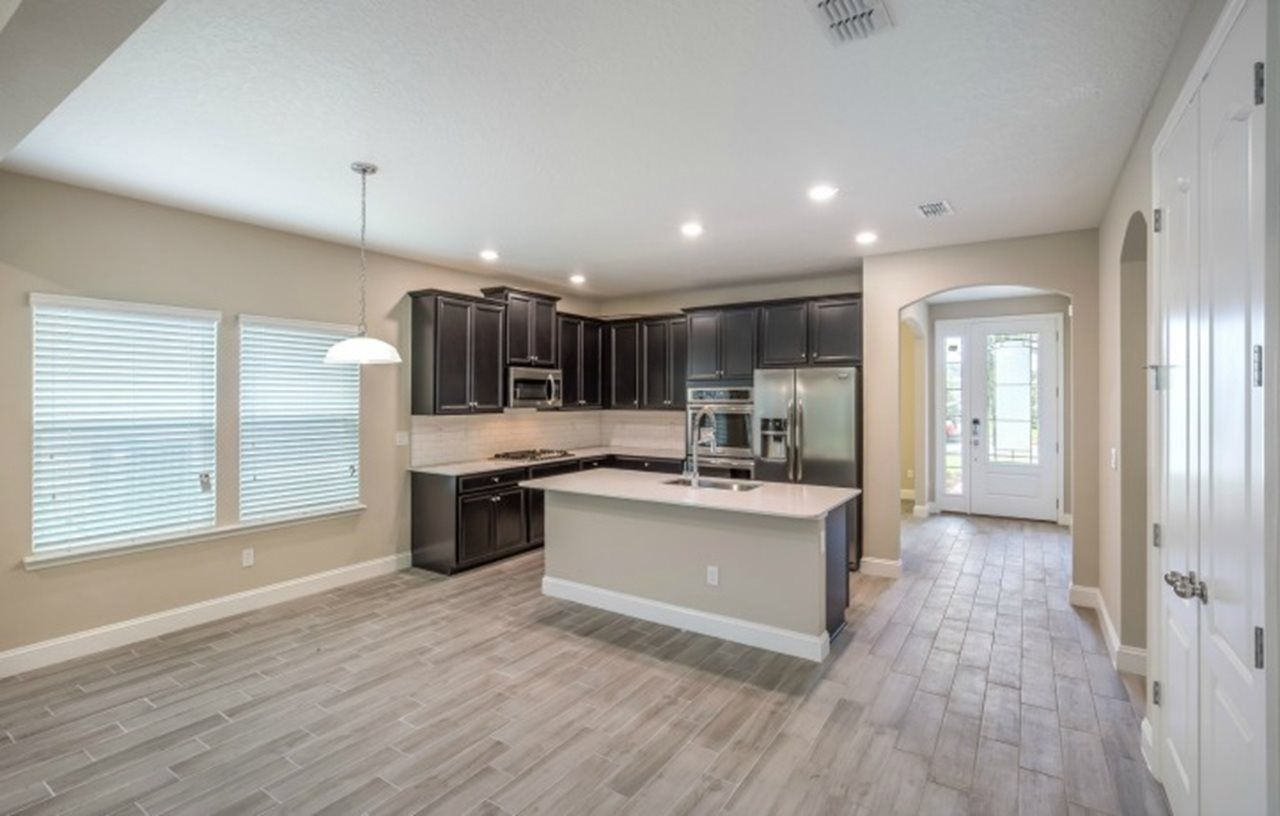 Kitchen featured in the Halle By Lennar in Jacksonville-St. Augustine, FL