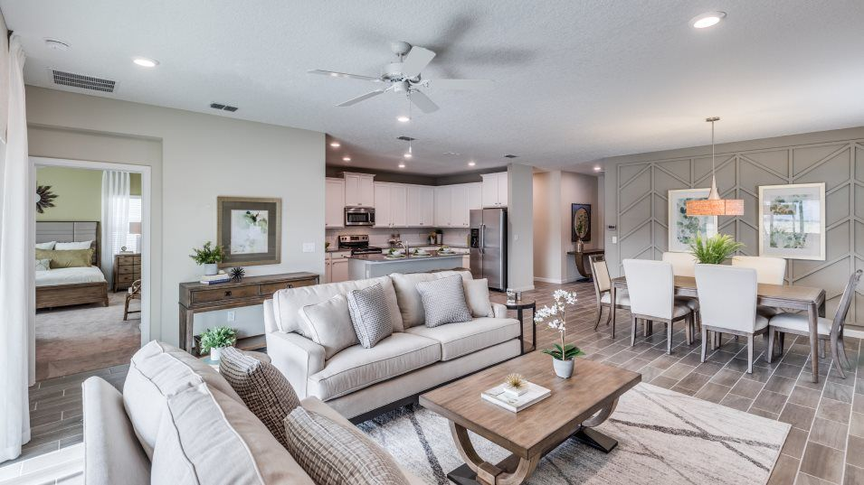 Living Area featured in the TREVI By Lennar in Jacksonville-St. Augustine, FL