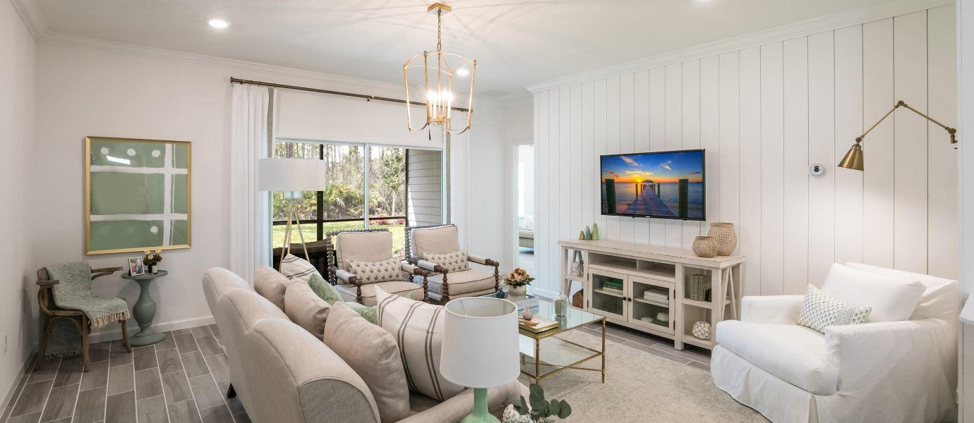 Living Area featured in the TIVOLI By Lennar in Jacksonville-St. Augustine, FL