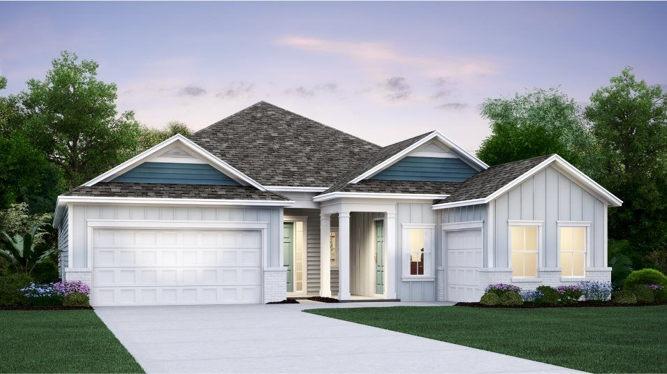 Exterior featured in the PATRIOT By Lennar in Jacksonville-St. Augustine, FL