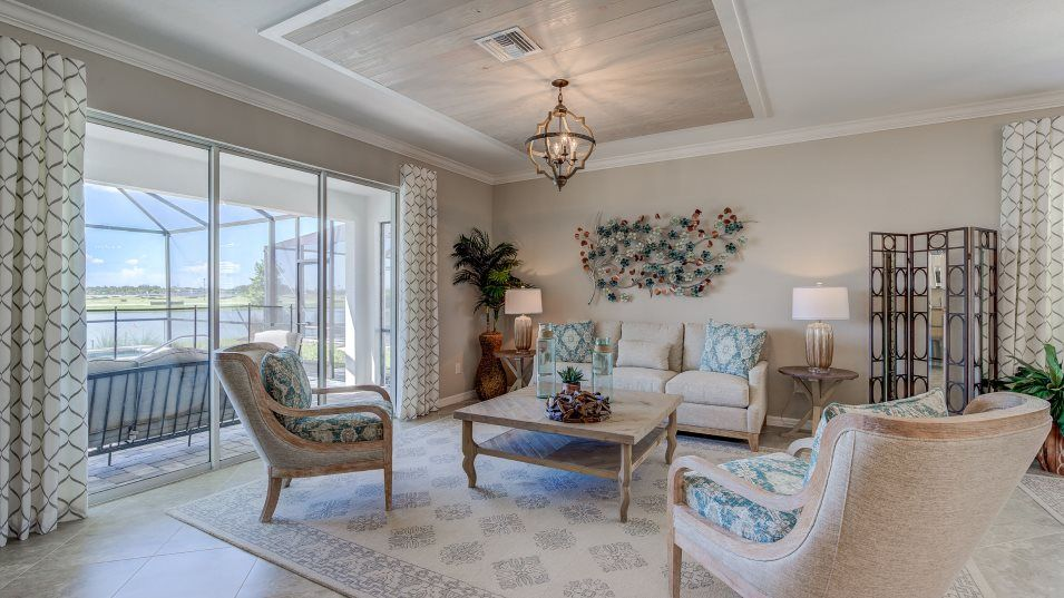Living Area featured in the Alexander By Lennar in Punta Gorda, FL