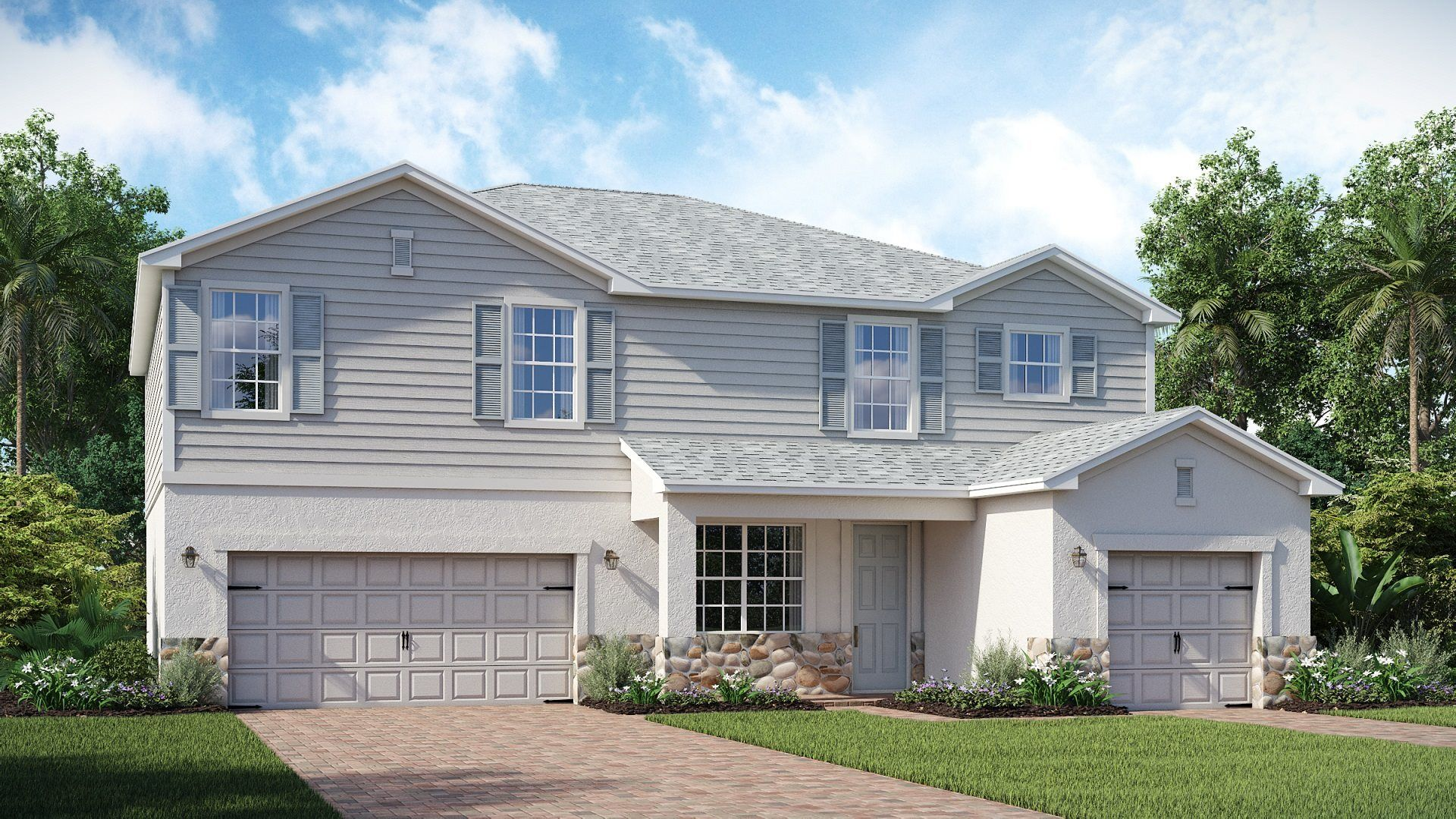 Exterior featured in the Majestica By Lennar in Punta Gorda, FL