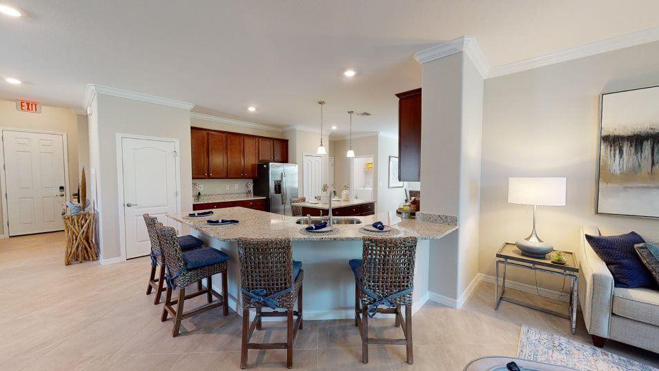 Kitchen featured in the Montgomery By Lennar in Punta Gorda, FL