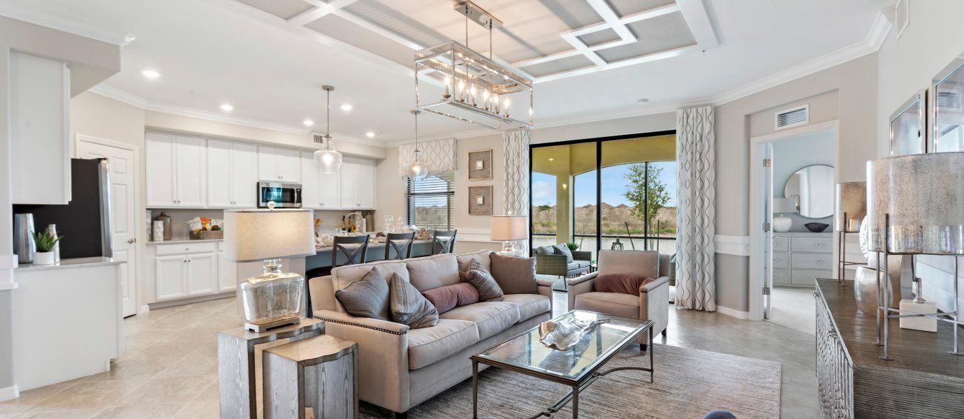 Living Area featured in the Arrowhead By Lennar in Punta Gorda, FL