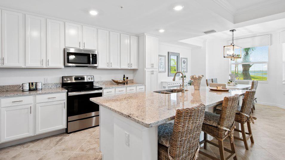 Kitchen featured in the Birkdale By Lennar in Punta Gorda, FL
