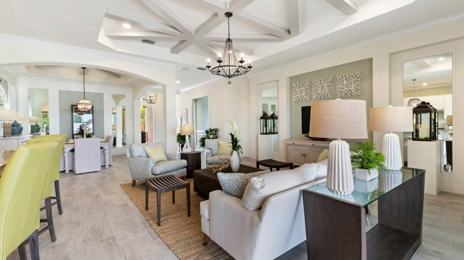 Living Area featured in the Angelina By Lennar in Naples, FL