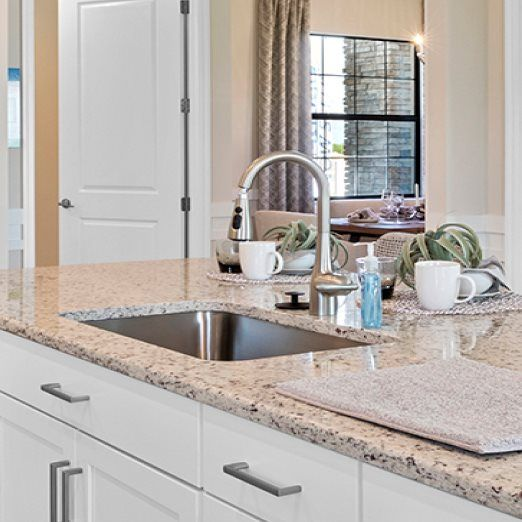 Kitchen featured in the National By Lennar in Naples, FL