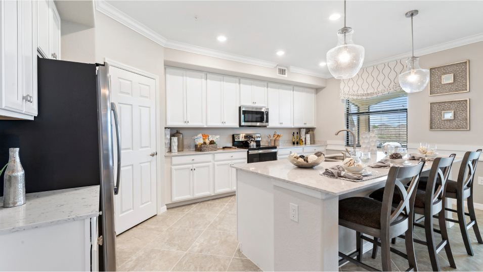 Kitchen featured in the Arrowhead By Lennar in Naples, FL