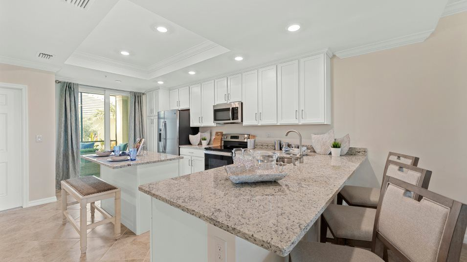 Kitchen featured in the Bromelia II By Lennar in Naples, FL