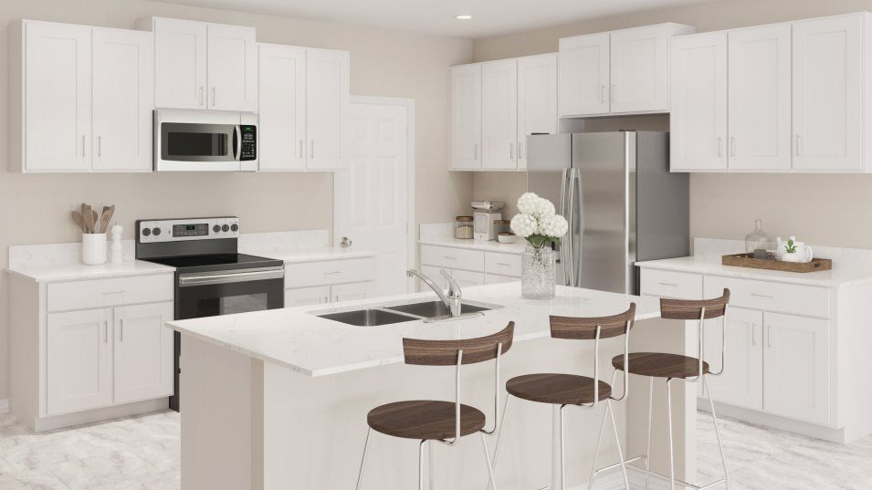 Kitchen featured in the Raleigh By Lennar in Fort Myers, FL