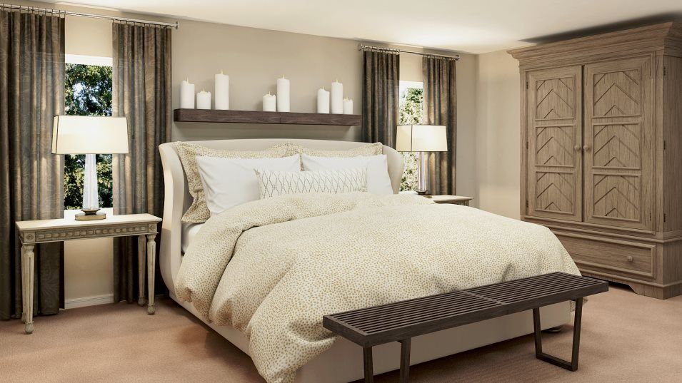 Bedroom featured in the Raleigh By Lennar in Fort Myers, FL