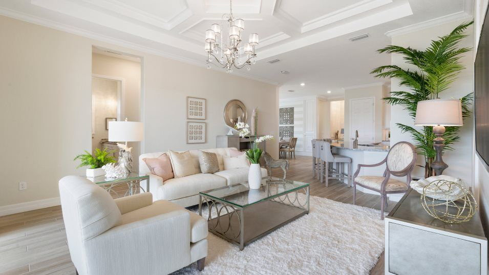 Living Area featured in The Stanford By Lennar in Fort Myers, FL
